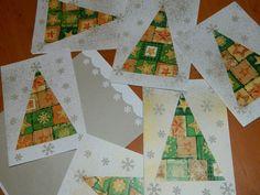 Christmas - vánoční přání Craft Fairs, Craft Gifts, Tree Skirts, Paper Crafts, Christmas Tree, Holiday Decor, Cards, Inspiration, Christmas Trees