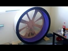 DIY Cat exercise wheel/ Cat wheel on a budget SO COOL! looks pretty easy too with the right tools!