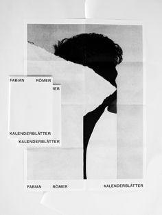 """thisispaper: """" The artwork for songwriter Fabian Römer by Deutsche & Japaner """""""