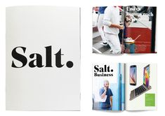 New Name, Logo, and Identity for Salt by Prophet London  typeface: superior