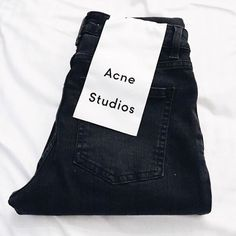 @acnestudios Skin 5 Jean available in several colours in store now | #workshopnz #acnestudios
