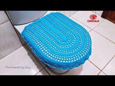 Crochet Bookmarks, Crochet Videos, Bathroom Sets, Crochet Designs, Diy, Crafts, Rugs, Youtube, Crochet Carpet