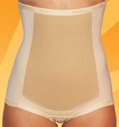 "Bellefit Postpartum Girdle.""A friend of mine used this for 4 weeks after giving birth and 6 weeks later her stomach is flatter than mine! (ive never had a baby and Im 24!)"" DEFINITELY on my buy list for when I get pregnant!"