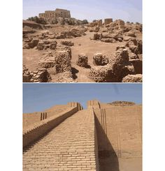 Ancient ruins of Babylon, Iraq