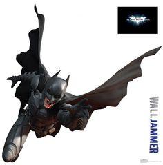Batman Dark Knight Rises Jammer Wall Decal