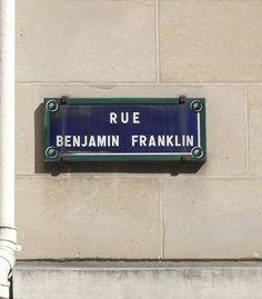 La rue Benjamin-Franklin (Paris 16ème).