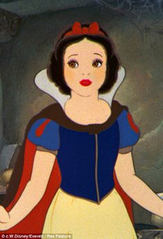 Snow White is just so cute!☺️❤️