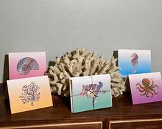 Where sea turtle conservation meets special needs! Sea Turtle and Marine Life Notecards - packs of 10