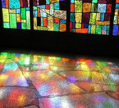 Find images and videos about light, rainbow and stained glass on We Heart It - the app to get lost in what you love.