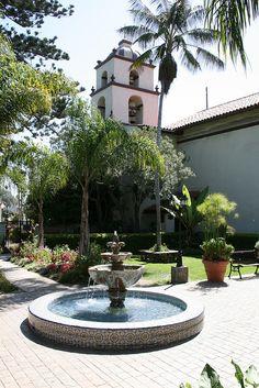 Mission San Buenaventura ~ Ventura, California