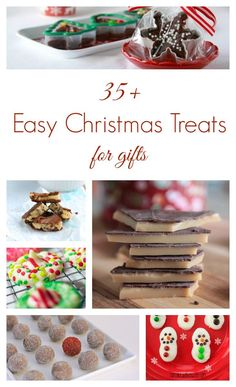 Need a last minute Christmas gift? Make one of these easy Christmas treats in no time for an edible gift anyone would love!