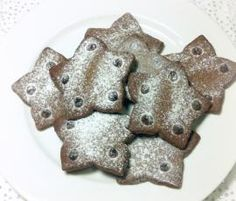 Recipe Chocolate Shortbread Stars by Sammie - Recipe of category Baking - sweet