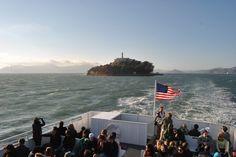 San Francisco: Vista de Alcatraz desde el ferry