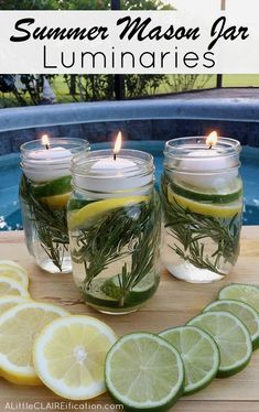Summertime is here, which means barbeques and outdoor living.  Unfortunately, it also means mosquitoes and bug bites.   Luckily, we've found a easy DIY repellant that is safe, works great, and smells good too.   Woohoo! Items  4 mason jars (or old pasta sauce or jelly jars) 40 drops – Cedarwood,  #outdoorsdiy