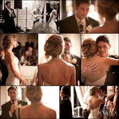 """such a beautiful moment.. the groom surprised the bride by singing """"You & Me"""" by Lifehouse.  - http://www.myrickstudios.com"""