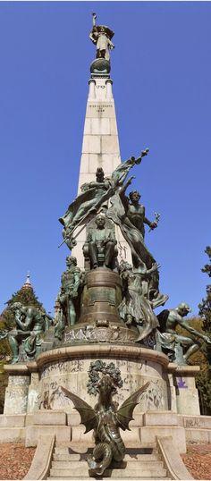 Monumento Julio de Castilho - Rio Grande do Sul - Brasil