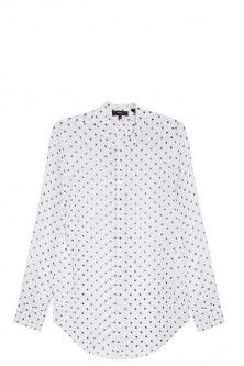 haze dotted shirt by THEORY. Available in-store and on Boutique1.com