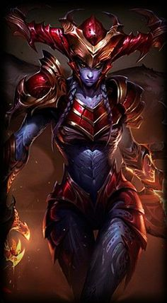 League of Legends- Shyvana, the half-dragon