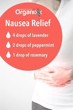 Natural nausea relief! For more information on essential oils please follow the image through! #NaturalHairLossRemediesThatWork