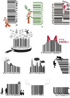 Barcode design Japan