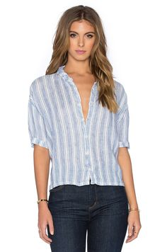 5a3dedbb853 CP SHADES Rory Striped Button Up in Stripe Wash Button Up, Button Downs,  Button