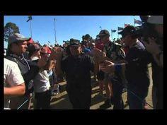 Australian Masters: Peter Senior becomes oldest winner of gold jacket