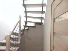 schody bielone na częściowej konstrukcji metalowej www.stolarstwoszudera.pl Stairs, Home Decor, Staircases, Stairway, Decoration Home, Room Decor, Home Interior Design, Ladders, Home Decoration