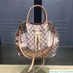 3d0e62763ad7 LOUIS VUITTON Damier Azur Girolata 2WAY Handbag N41579