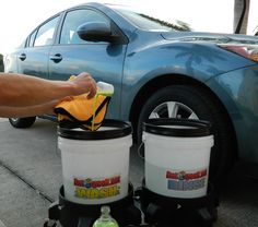 Wash And Wax Your Car Anytime Anywhere Optimum No Rinse