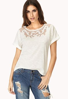 Baroque Tee   FOREVER 21 - 2000064413 #F21CRUSH