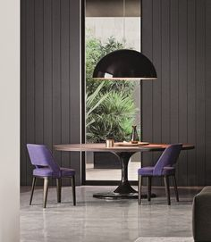 Browse contemporary design furnishings by Minotti such as Neto Dining Table - Round. We're pleased to offer no sales tax* and our price match guarantee. Interior Design Shows, Interior Design Inspiration, Dining Furniture, Furniture Design, Round Dining Table, Dining Room Design, Beautiful Interiors, Contemporary Interior, Interior Architecture