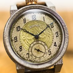 The Springfield 212 – Vortic Modern Watches, Vintage Watches, Watch Companies, Beautiful Watches, Watch Case, American Made, Precious Metals, Artisan, Vintage Fashion
