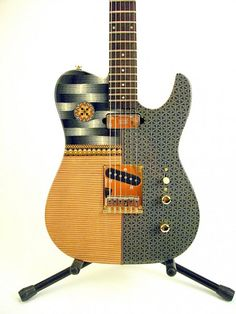 Guitar design by Jon Anderson