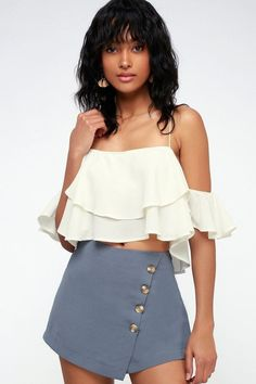 Uhren & Schmuck Punctual Tankinis Women 2019 Hot Sale Womens Fashion Sexy V-collar Casual Solid Sling Short Sleeveless Off Shoulder Ruffle Camis Vest Up-To-Date Styling