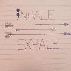 anxiety/depression tattoo.