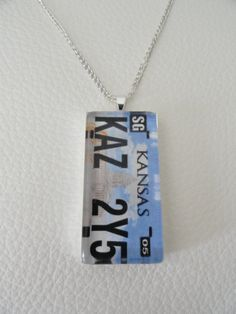Supernatural Impala License Plate Necklace by PortaeAstrarum, $9.50