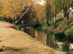 Argentina, Bahia Blanca  Arroyo Napostá en el Parque de Mayo.