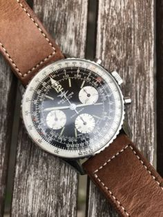 BREITLING NAVITIMER VINTAGE REF 806 CHRONOGRAPH STEEL MEN'S WATCH Casual Watches, Cool Watches, Watches For Men, Men's Watches, Breitling Navitimer, Rolex Date, Luxury Watches, Fashion Watches, Gold Watch