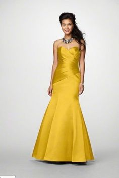 Goldenrod Color $59.99 | Yellow Bridesmaid Dresses | Pinterest ...