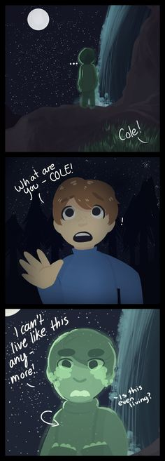 he hurts by Neon-Season.deviantart.com on @DeviantArt I really hope that Cole becomes 'alive' agin :(