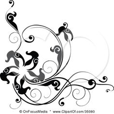 Google Image Result for http://images.clipartof.com/small/35080-Clipart-Illustration-Of-A-Black-And-White-Corner-Design-With-Leafy-Vines-And-A-Star-Or-Starfish.jpg
