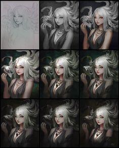 ArtStation - medusa, Dao Le Trong