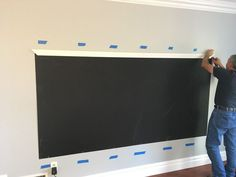 How to Make a DIY Chalkboard Wall (that's magnetic too!) A chalkboard wall is the perfect addition to a playroom. Read more on how to make a chalkboard wall. DIY Framed Magnetic Chalkboard Wall for Kid's Playroom) Chalkboard Wall Playroom, Framed Chalkboard Walls, Make A Chalkboard, Playroom Wall Decor, Magnetic Chalkboard, Playroom Organization, Playroom Design, Magnetic Wall, Playroom Table