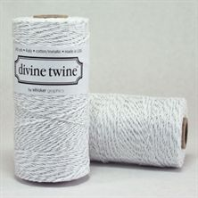 Show details for Divine Bakers Twine Eco-Luxe SILVER METALLIC
