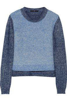 Tibi Marled cotton-blend sweater | NET-A-PORTER