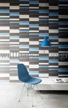 Wallpapers :: Modern :: Mankai :: Mankai Zen Indigo Blue No 7824 - WallpaperShop