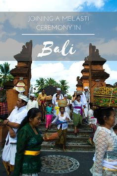 Far from the crowds of Kuta in Bali, we lived at Batukaru farmstay and joined villagers in their Melasti Cleansing ceremony walk down to Tanah Lot Temple.