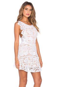 For Love & Lemons Gianna Dress in White