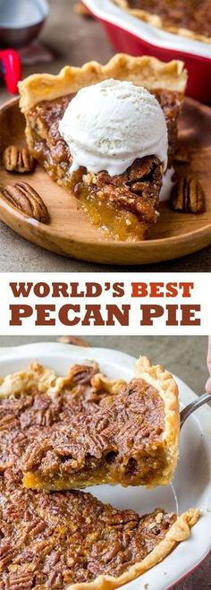 Tried and tested... this is the PERFECT Pecan Pie Recipe!