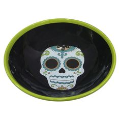 Day of the Dead Skull Candy Dish